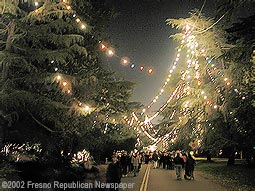 Christmas Tree Lane Walk 2002